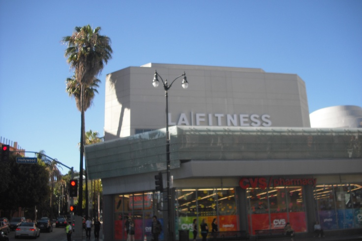 Yes, they do really have an LA Fitness in LA!