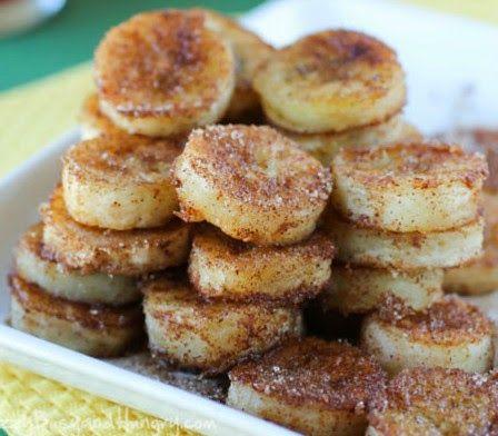 Best Recipes : PAN FRIED CINNAMON BANANAS
