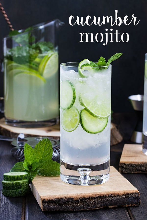 This cucumber mojito recipe is a refreshing twist on the classic mojito cocktail…