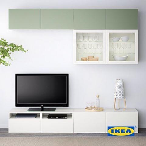 Kombinasi BESTÅ bisa jadi solusi untuk ruang penyimpanan besar yang membuat ruang keluargamu lebih rapi.  Sudah punya produk ini?  #IKEA #IKEAIndonesia #BESTÅ