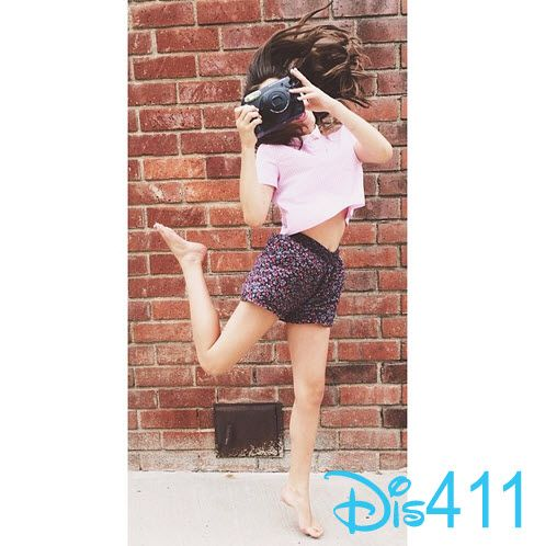 Photo Rowan Blanchard Happy With Her Polaroid Camera July