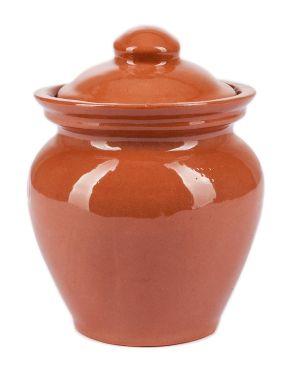 Горшочек керамический для меда