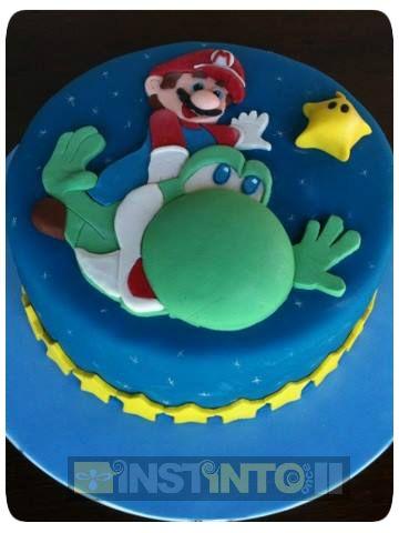 Torta de cumpleaños Mario Bross