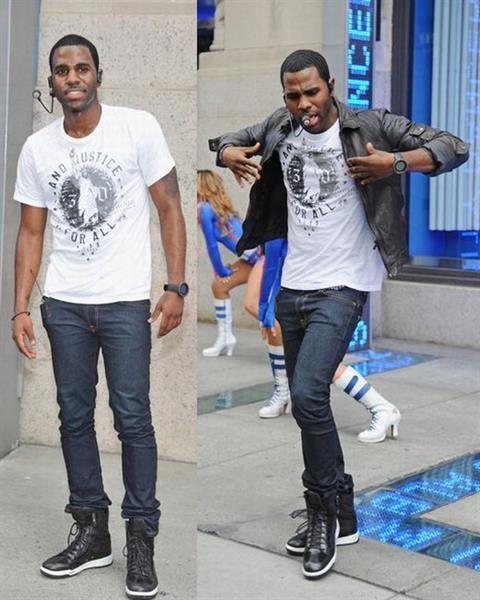 Какие джинсы под высокие кроссовки