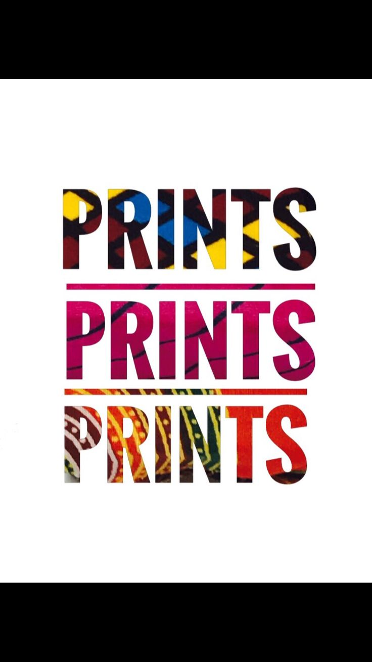 We have all sorts of prints at Harmony D