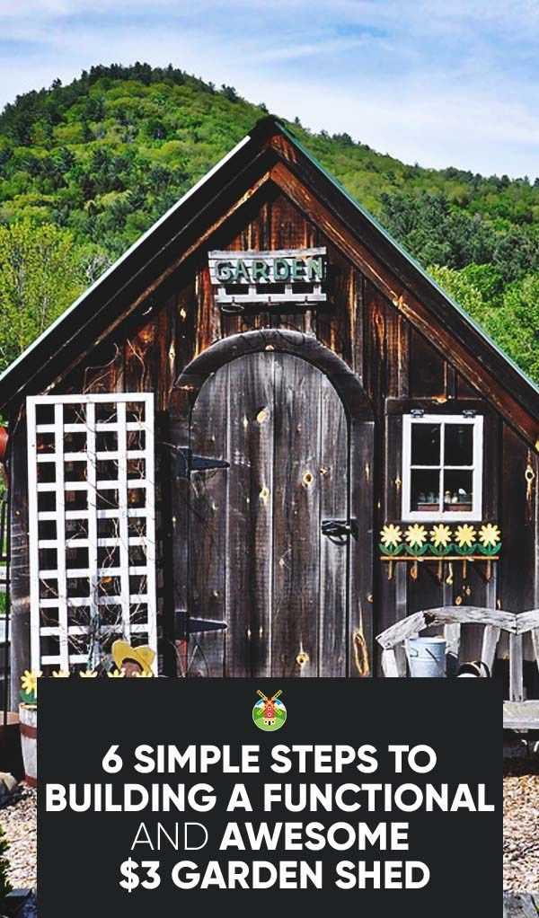How To Build A Cheap Garden Shed Depends On Your Ability To Source Materials.  Here