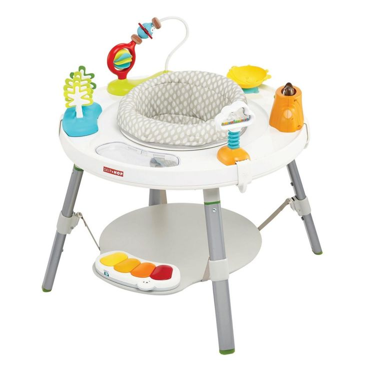 """Designed in collaboration with a paediatrician, our baby activity centre supports a """"whole body"""" approach to play and learning. Easy to assemble, with toys that"""
