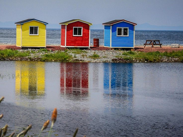 These three little buildings on the beach in Cavendish, Trinity Bay, are much-loved ... and much photographed, too! (Submitted by Tom Clarke)