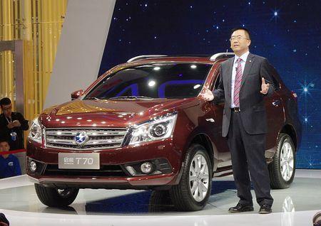 日産が広州モーターショーで公開した低価格SUV=20日、中国広東省広州市 ▼20Nov2014時事通信|中国市場、SUVに焦点=広州モーターショー開幕 http://www.jiji.com/jc/zc?k=201411/2014112000730
