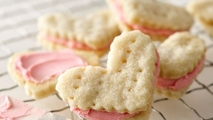 Butter, whipping cream and flour are the magic trio that creates dough that bakes into melt-in-your-mouth wafer cookies.