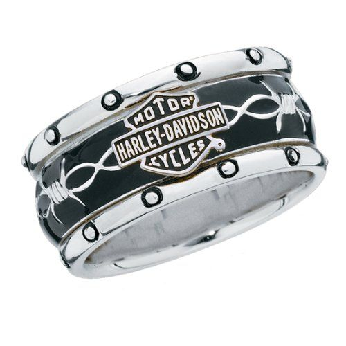 Sterling Silver Harley-Davidson Men's Rumble & Roll Ring  http://bikeraa.com/sterling-silver-harley-davidson-mens-rumble-roll-ring/