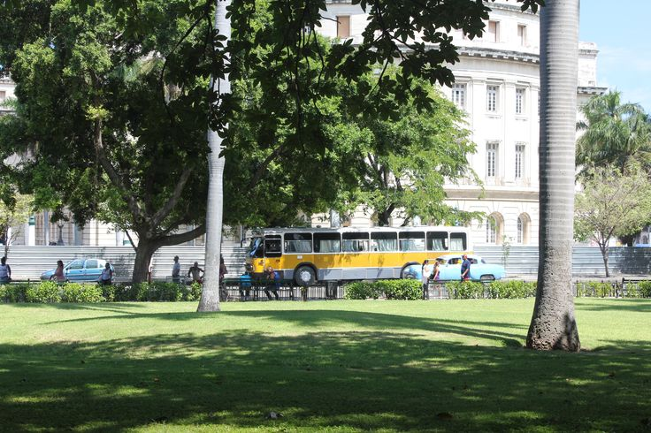 Nederlandse bus in Havana!
