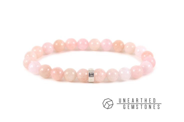 15% Lateship SALE Genuine Morganite Bracelet -Pink Morganite Jewelry, Gemstone Bracelet, Morganite Beads Jewelry, Pink Emerald Bracelet by UnearthedGemstones on Etsy https://www.etsy.com/uk/listing/199211718/15-lateship-sale-genuine-morganite