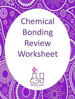 Chemical Bonding Review Worksheet
