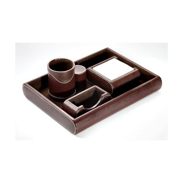 5 In 1 Corporate Table Top Set 602 Corporate Leather Tabletops Wholesale Suppliers. #holders #memopads
