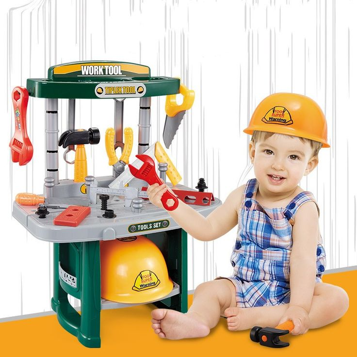 [ 29% Off ] Tool Set For Children Educational Intelligence Toy Baby Tool Set Child Tools Box Engineer Tools Set For Children