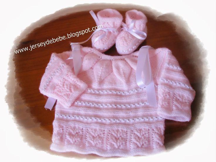 jersey celeste y beige, fabricado con hilo de perlé... propio para entretiempo, de cero a tres meses    REFERENCIA 0018         jersey c...