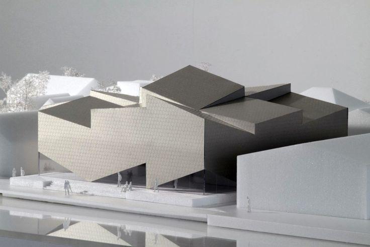 ArchitecturL Model - COBE architects + transform: porsgrunn maritime museum and…