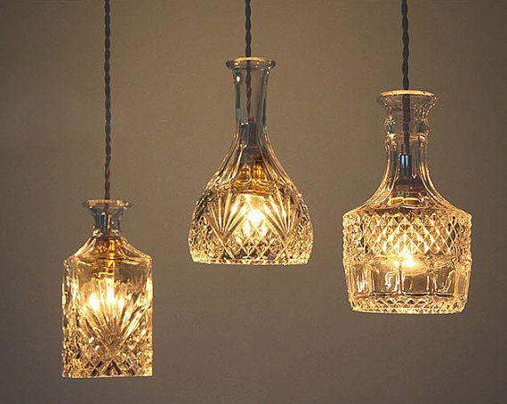 Best 25 Decanter lights ideas only on Pinterest Mason jar light