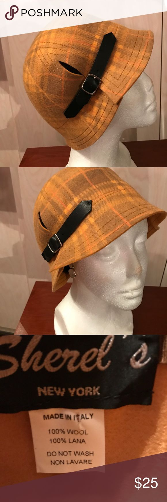 Very trendy made in Italy wool hat! Brand new! Very trendy made in Italy 100% wool hat! Brand new! Accessories Hats