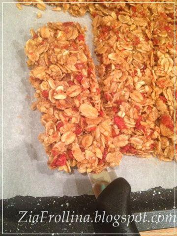 Zia Frollina - Arte e cucina.: Barrette di cereali light