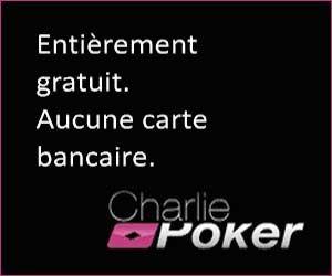 Charlie Poker : un site pour jouer gratuitement et tenter de gagner des chèques en euros | Maxi Bons Plans