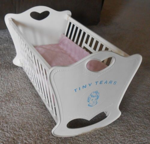 Vintage 1950 S Tiny Tears Original Cradle Bed Bassinet For
