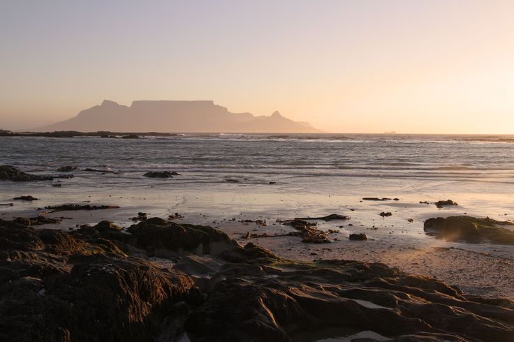 Cape Town from Bloubergstrand - Photo taken by Julie Sneeden