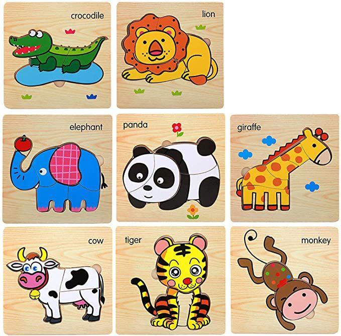 45+ Abc Animal Board Puzzle Clipart