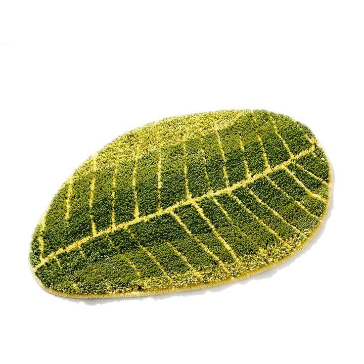 Ковер листьев для прихожей коврик против скольжения кухня коврик Спальня прикроватный Коврик для ванны стол ковры tapetes купить на AliExpress