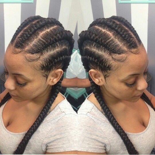Stupendous 1000 Images About Braids On Pinterest Ghana Braids Jumbo Short Hairstyles Gunalazisus
