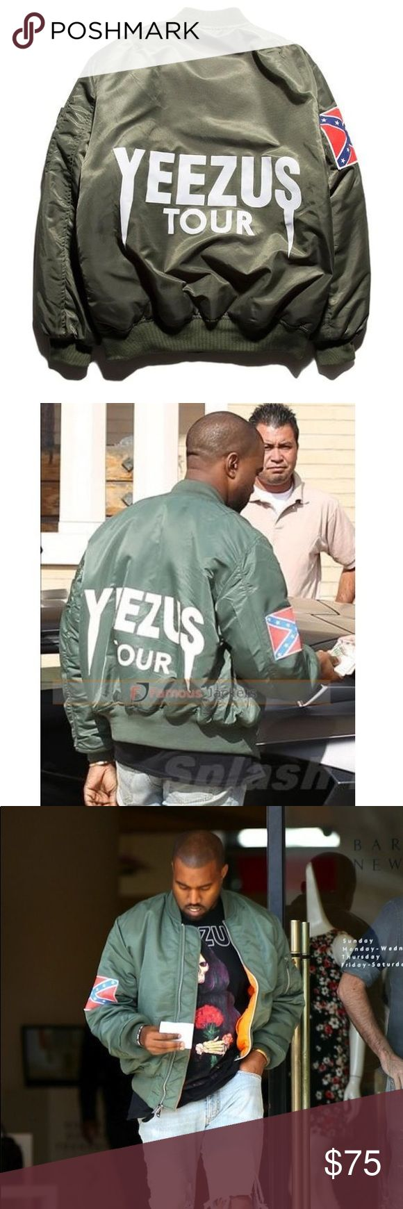 Yeezus Tour Jacket Never worn. Received as a gift . Too big for me. Yeezy Jackets & Coats Performance Jackets