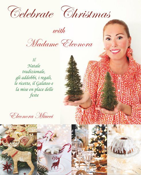 Cover new book Celebrate Christmas with Madame Eleonora