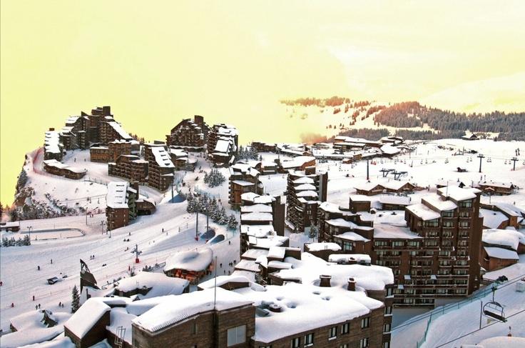 avoriaz, the alpes, France