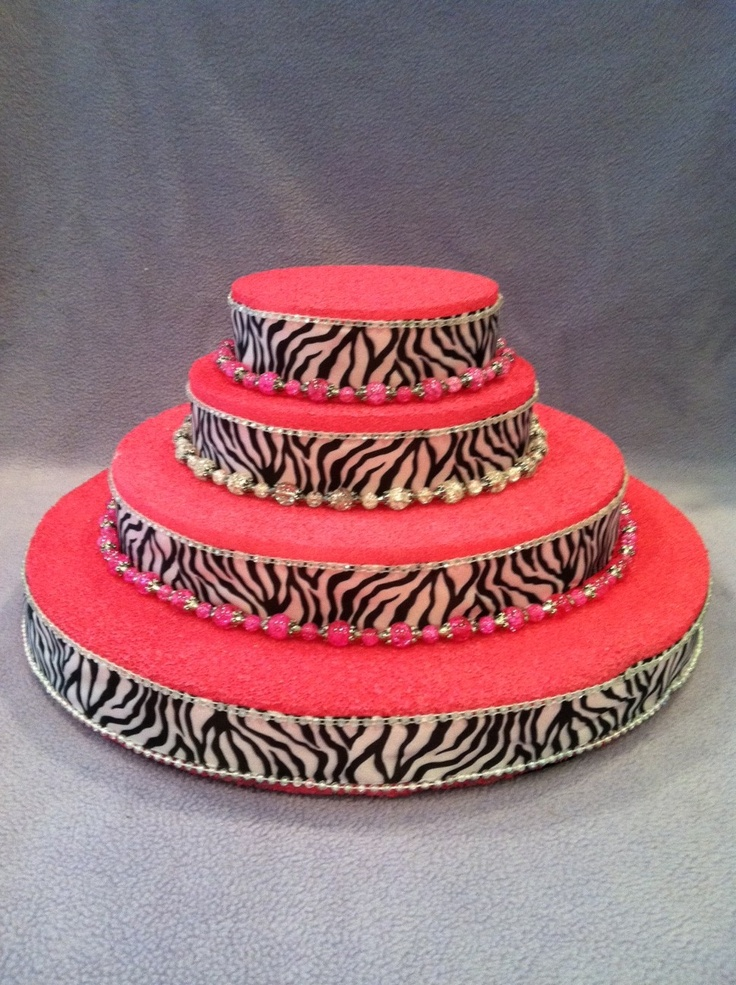 How To Make A Cake Stand With Styrofoam