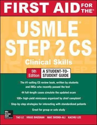 First Aid for the USMLE Step 2 CS -Free worldwide shipping of 6 million discounted books by Singapore Online Bookstore http://sgbookstore.dyndns.org
