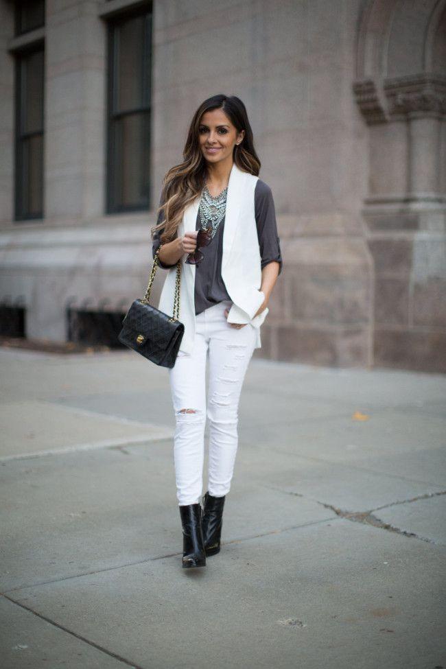 White Vest Layer. - Mia Mia Mine