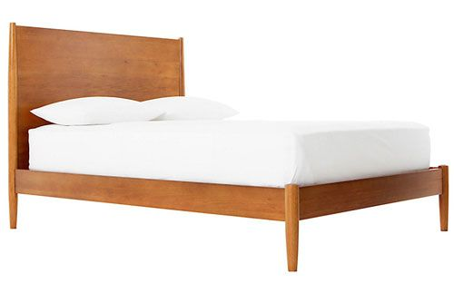 West Elm Midcentury bed frame at John Lewis