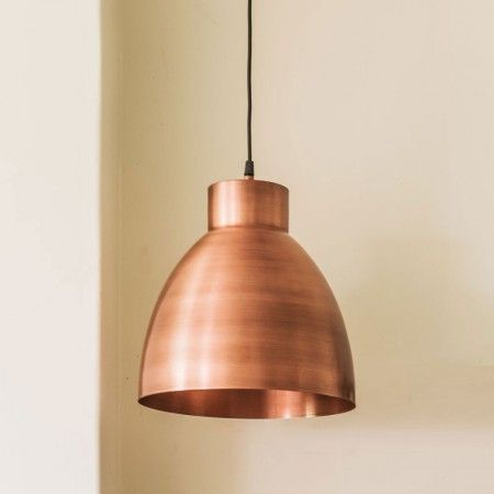 Portland Industrial Copper Lights - Chandeliers & Ceiling Lights - Lighting - Lighting & Mirrors