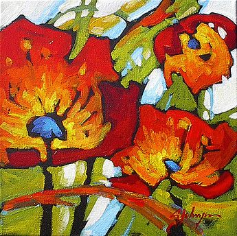 A collection of paintings by Canadian Artist Gail Johnson who's work is featured…