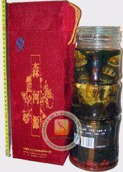 Лечебная настойка на двух змеях - 42% спирта (змеиное крепкое вино) с ядом кобры, на змеях, женьшене, ягодами годжи, листьями травы долголетия - 2 литра. Подарочная коробка! Отличный и достойный подарок! Китай.