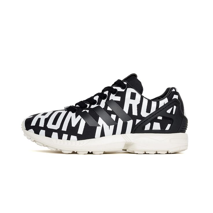 ADIDAS ZX FLUX - BLACK/WHITE SNEAKERS