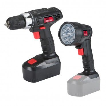 18 volt 38 in cordless drilldriver and flashlight kit
