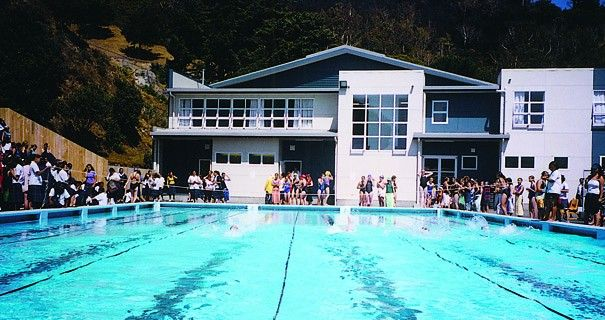 Wellington East Girls' College Pools and Sports Centre
