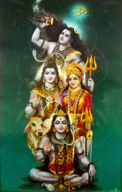 Shiva Parvati (via ebay: manyacreations)