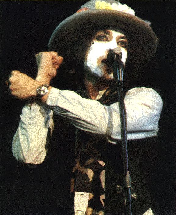 """In the 1970s, Dylan loved to play the lyrical anti-hero in songs like """"Isis."""" He explained his 'heroic/ cowboy' philosophy in Robert Shelton's No Direction Home"""