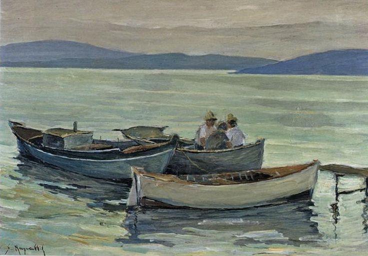 .:. Μαγιάσης Σταύρος – Stavros Magiasis [1921-1976] Βάρκες