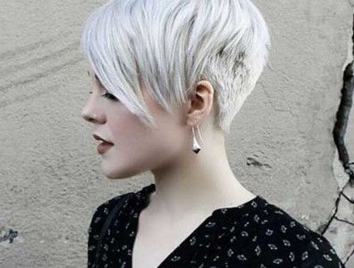 Really Trendy Asymmetrical Pixie Cuts