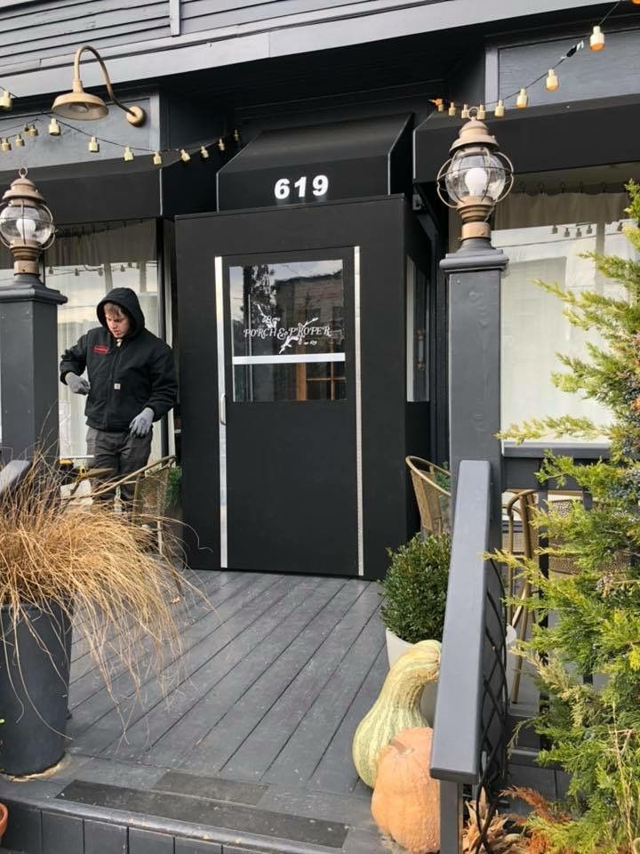 Pin By New York City Signs Amp Awnings On Winter Vestibules