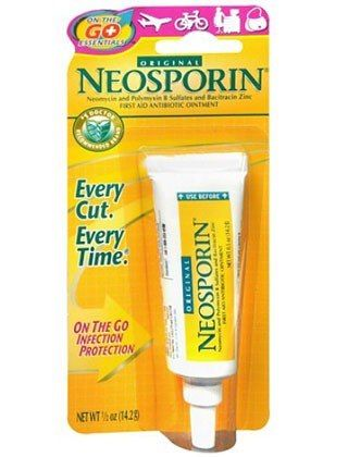 """""""As someone with acne, I've discovered that Neosporin cures spots overnight and makes it so much easier to cover up the next day. It's not something you would normally think of but it does make sense."""" -Stephanie Kornblum, PR Coordinator   